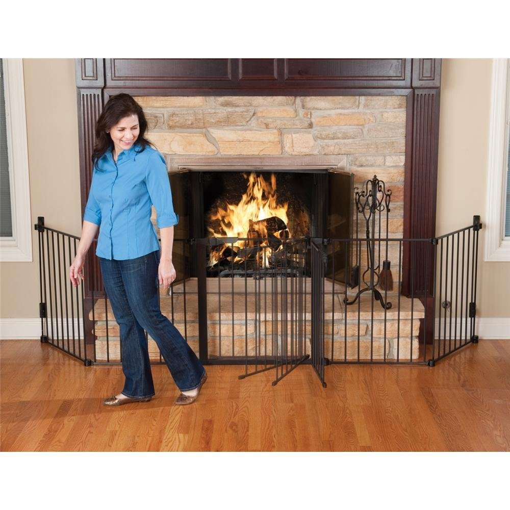 Attractive Baby Fireplace Gate Part - 5: Kidco-hearth-gate
