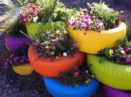 crazy container garden