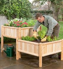 raised patio bed